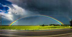 Somewhere over the rainbow... #Kansas