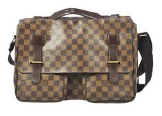 Louis Vuitton Broadway Damier Brown Messenger Bag. Get one of the hottest styles of the season! The Louis Vuitton Broadway Damier Brown Messenger Bag is a top 10 member favorite on Tradesy. Save on yours before they're sold out!