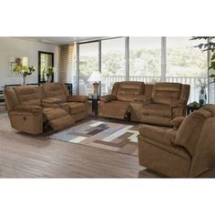 Wish to purchase Serta Upholstery Hodgdon Power Double Recliner Reclining Sofa