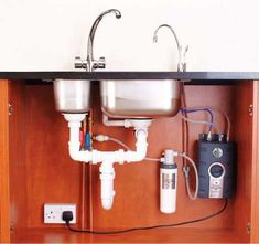 insinkerator hot water tap and tank installation