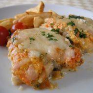 Zapečené rybie filé so zeleninou recept - Varenie. Sushi, Chicken, Pisces, Buffalo Chicken, Cubs, Sushi Rolls