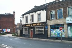 Two photos taken 21 Nov 2008 Linked to and from main entry The Hare and Hounds pub on Nursery Street (Wicker end) Link to main entry Sheffield Pubs, Car Parking, Hare, Yorkshire, Old Things, Street View, England, Nursery, Memories