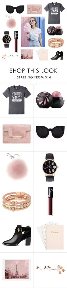"""Cotton Candy"" by bookworm528 ❤ liked on Polyvore featuring Henri Bendel, NARS Cosmetics, Ted Baker and WALL"