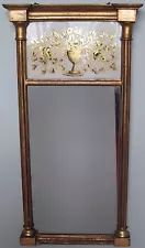 FINE EARLY 19TH CENTURY EGLOMISE PANELED MIRROR BY JOHN DOGGETT ROXSBURY-BOSTON John Doggett, Boston Furniture, Early American Furniture, Mirror, Antiques, Home Decor, Antiquities, Antique, Decoration Home