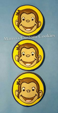 Look who it is...Curious George!  #curiousgeorge #curiousgeorgeparty #curiousgeorgebirthday #curiousgeorgecookies #curiousgeorgefan @curiousgeorge #birthday #birthdays #birthdayfun #birthdayparty #birthdaycookies #birthdayfavor #birthdayfavors #africanmonkey #monkey #monkeys #customcookies #mamascustomcookies