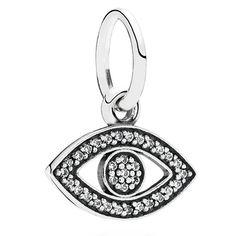 Pandora Symbol of Insight Evil Eye Charm