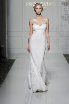 Prunelle style from Pronovias 2016 Collection.