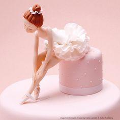 Carlos Lischetti 'Beautiful Ballerina' SA1 - Squires Kitchen - create bake decorate