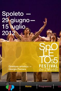 Spoleto's Festival of two worlds in Umbria, the very green heart of Italy
