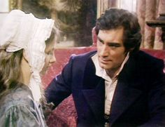 Timothy Dalton with Zelah Clarke in Jane Eyre (1983 ) He was brilliant in this scene...so gentle and caring, just as Rochester should be ;)