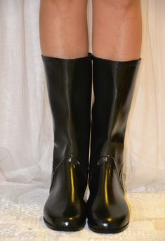 Rubber Shoes, Rubber Rain Boots, Wellies Rain Boots, Rain Wear, Fishing, Vintage, Welly Boots, Rains Clothing, Vintage Comics