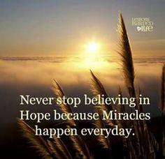 Always have hope