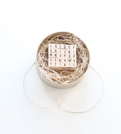 Sweet tiny full alphabet set, limited quantities. Get them while you can!