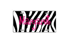Name License Plate : Personalized Gifts - Preppy Monogrammed Gifts @ 2PreppyGirls.com    Pink Giraffe♥ Would complete my damn vehicle. :D