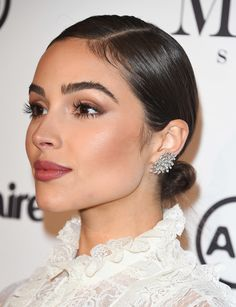 032 Prom Hairstyles For Short Hair Olivia Culpo Sleek Low Bun - prom hairstyles . 032 Prom Hairstyles For Short Hair Olivia Culpo Sleek Low Bun – prom hairstyles african american Short Hair Updo, Formal Hairstyles For Short Hair, Fringe Hairstyles, Elegant Hairstyles, Party Hairstyles, African Hairstyles, Wedding Hairstyles, Braided Hair, Hairstyles For Going Out
