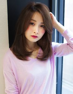 Haircuts For Long Hair With Bangs, Haircuts Straight Hair, Girl Haircuts, Hairstyles With Bangs, Medium Layered Haircuts, Medium Hair Cuts, Short Hair Cuts, Medium Hair Styles, Short Hair Styles