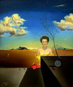 Salvador Dali: 'Portrait of Isabel Gregory'