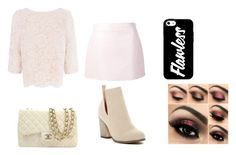 """""""Untitled #408"""" by happygirlavenue ❤ liked on Polyvore featuring Courrèges, Chase & Chloe, Chanel and Coast"""