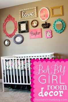 Captivating Baby Girl Room Decor : Captivating Baby Girl Room Decor Picture