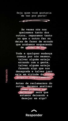 Perfeito Words of wisdom Ems Quotes, Words Quotes, Sayings, Motivational Phrases, Inspirational Quotes, Instagram Blog, Insta Posts, Some Words, Love Messages