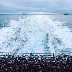 The ferry home   #bikes #ferry #ferryride #ocean #waves #sunday #perth #australia #rottnestisland #canon #photographyy by jazzy.093 http://ift.tt/1L5GqLp