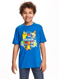 Old Navy Pokémon Graphic Tee in Blue