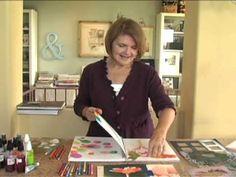 Visual Journaling Start Where You Are - Part 2 - with Linda Blinn.  From Strathmore Artist Papers 2011 Visual Online Workshop Series. Copyright Linda Blinn.  visit our website at http://www.strathmoreartist.com/