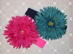 silk flower headbands