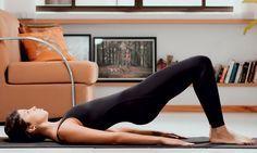 Pilates em casa: série fácil para ficar com o bumbum durinho e empinado - Dieta - MdeMulher - Ed. Abril