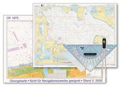 SKS Schulungsset Basic - die Budget-Variante für den Segelschein: Übungskarten, INT-1 und Navigationsbesteck in der günstigen Ausführung für nur € 48,80