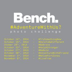 #AdventureWithUs on our #BenchAdventure photo challenge for your chance to WIN a Whistler Getaway for 2!