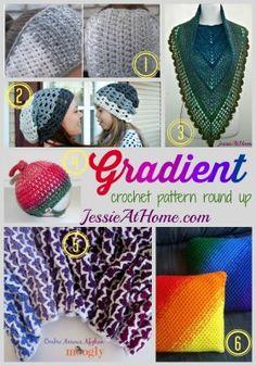 Gradient Crochet Pattern Round Up