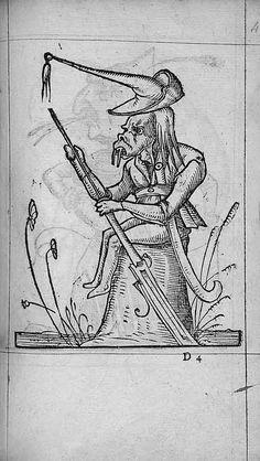 François Desprez, f. D4 Dessin 49 Les Songes drolatiques de Pantagruel A Paris : Par Richard Breton 1565