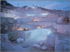 Post with 483 views. Marble quarry in Turkey Limestone Quarry, Beige Marble, Marble Stones, Beautiful Places, Environment, Villa, World, Nature, Instagram