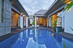 Villa Kim A private 2 bedroom villa with private pool that is located in a quiet residential part of Seminyak where the villa is well appointed design concept to a comforts of a modern home, away from the crowds.