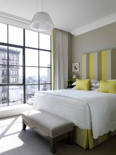 Crosby Street Hotel in Soho, New York is a luxury design hotel. Crosby Street Hotel offers stylish rooms & luxurious suites, a restaurant, hip bar and cinema. Soho Hotel, Crosby Hotel, Boudoir, York Hotels, Nyc Hotels, Luxury Hotels, Hotel Room Design, My Escape, Beautiful Bedrooms