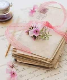 Fripperies:  #Love #Letters.