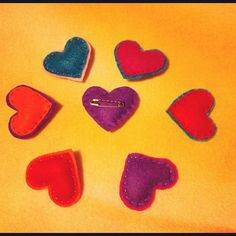 #diy #pins #purlbee #felt #heart