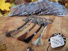 Custom Horsehair Key Chains by braidedtails on Etsy, $30.00