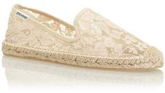Soludos Smoking Slipper Lace #bloggerstyle