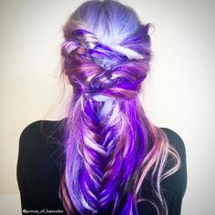 www.estetica.it | Purple hair from Instagram