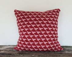 Pillow   Little Birds large soft knitted pillow  by ColetteBream, $99.00