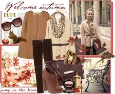 """""""Welcome Autumn!"""" by molnijax on Polyvore"""