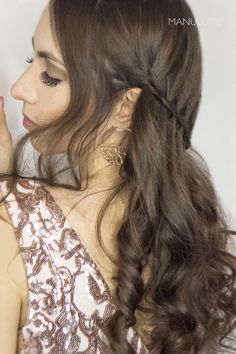 10 Party Hairstyle ideas for amazing and shinning hair for every special occasion! From easy hair ideas you can do by yourself to romantic or sexy styles! Party Hairstyles, Cool Hairstyles, Hair Curling Tutorial, Goddess Braids, Braided Updo, Special Occasion, Make Up, Long Hair Styles, Videos