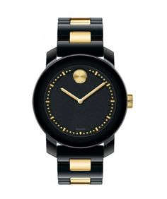Slap on the Wrist: Movado Bold - Here is an alternative to the ubiquitous boyfriend watch.
