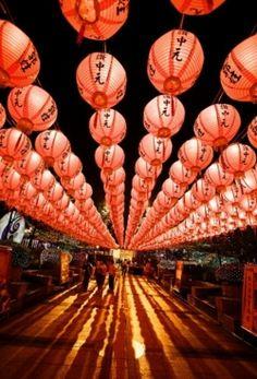 Red Lanterns...Japan