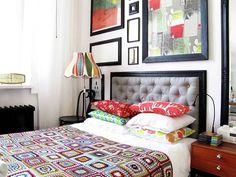 U nas w mieszkaniu zmiany, sypialnia zamieniła się miejscami z pracownią, logistycznie to duże przedsięwzięcie ponieważ jeden pokój jest od drugiego dużo mniejszy. Zaczęliśmy od urządzania sypialni, pracownią zajmiemy się później.