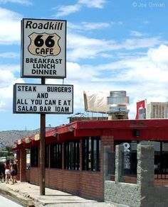 Roadkill Route 66 Cafe