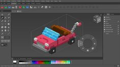 Qubicle is a professional voxel editor optimized for the easy creation of models with a unique, blocky charm. Principles Of Animation, Game Engine, Used Tools, Game Design, Editor, Activities, Low Poly, 3d, Game Motor