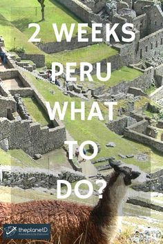 Itinerary for 2 weeks in Peru: See all the highlights (literally!) on your trip to South America   The Planet D: Adventure Travel Blog